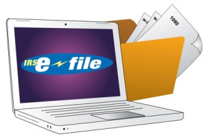 Efile Laptop and Tax Folder