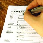 IRS Federal Income Tax Form 1040A