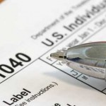 IRS form 1040 and instructions