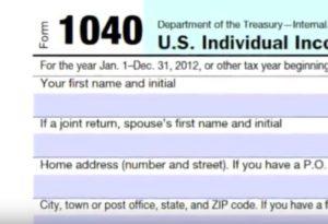 form 1040 online