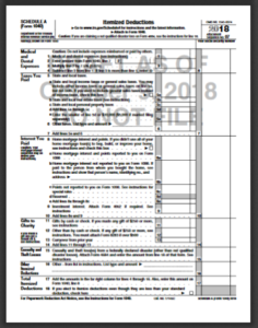 Irs Federal Income Tax Form 1040a For 2018 2019