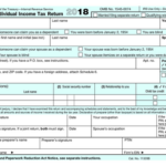 See the New IRS 1040 Tax Form