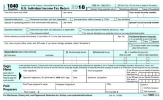 New 1040 For 2020.See The New Irs 1040 Tax Form For 2019 2020 Tax Filing